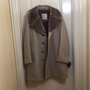 London Fog fur coat